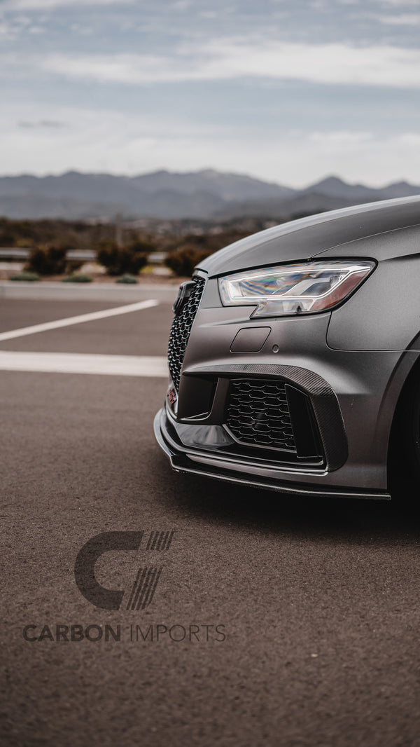Audi RS3 Carbon Fog Canards 2017-2020