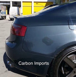 Audi A5 Carbon Fiber Trunk Lip OEM Style 2007-2016 B8 & B8.5 Version 2