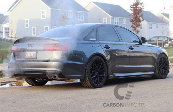 Audi A6/S6/RS6 C7 & C7.5 Carbon Fiber Side Skirts