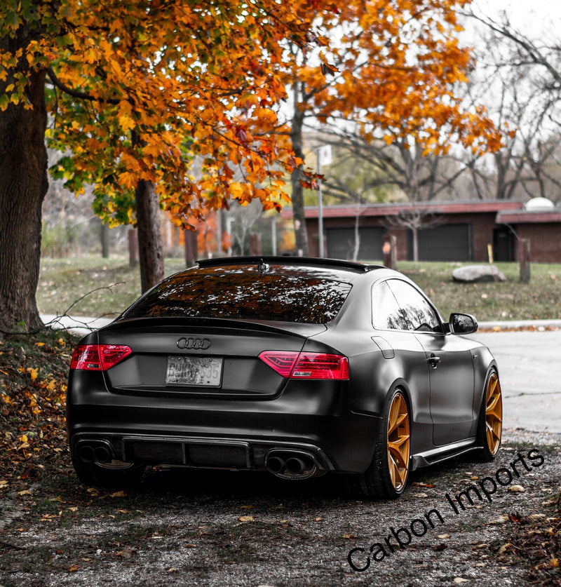 Audi A5/S5/RS5 B8 & B8.5 Carbon Fiber Side Skirts