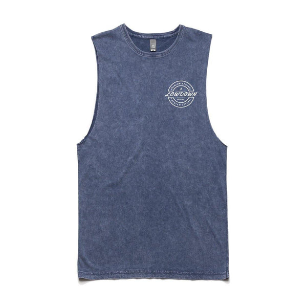 Stone Wash Muscle Top - LowDown Apparel