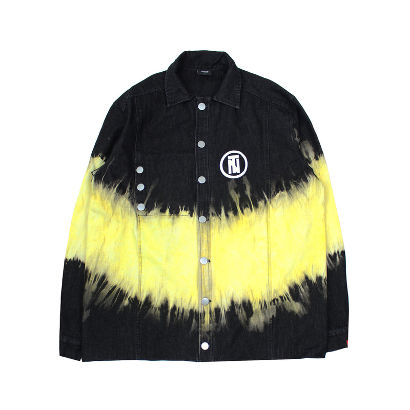 Aimed Dyed Denim Jacket