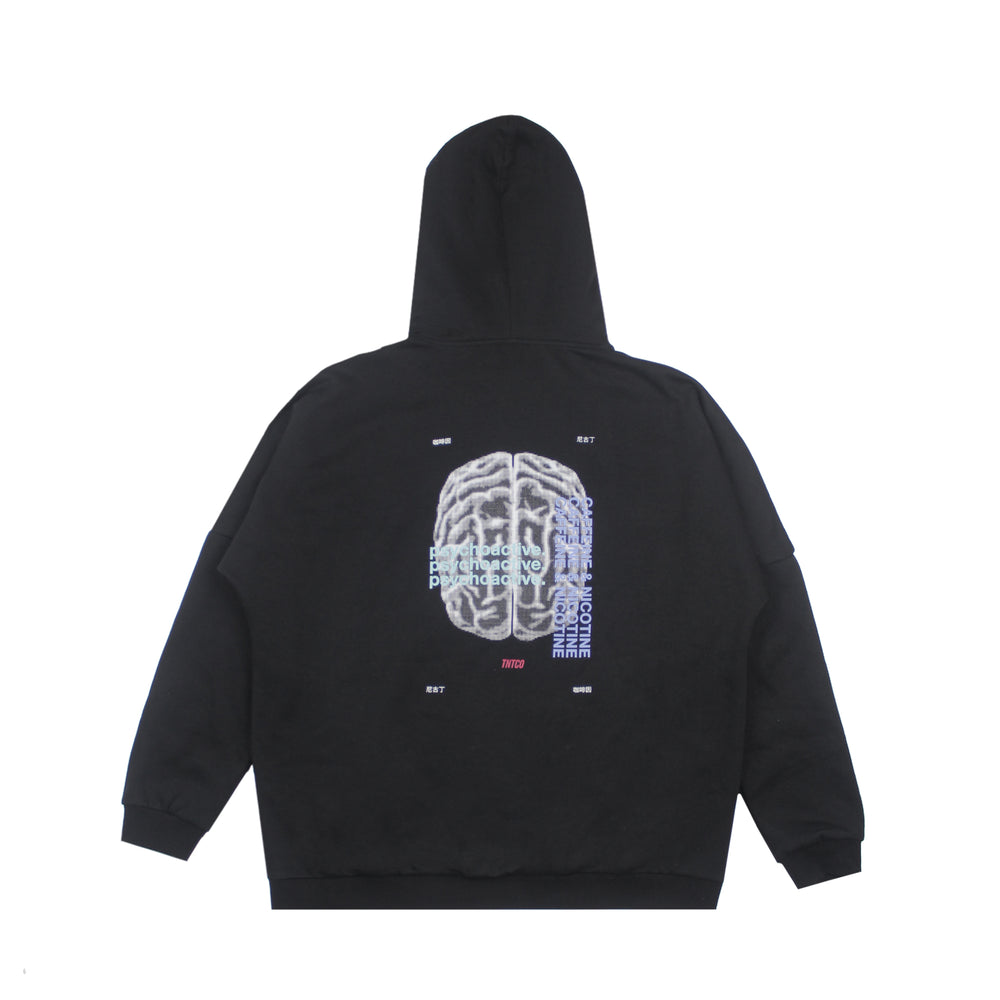 Psychoactive Hooded Sweatshirt