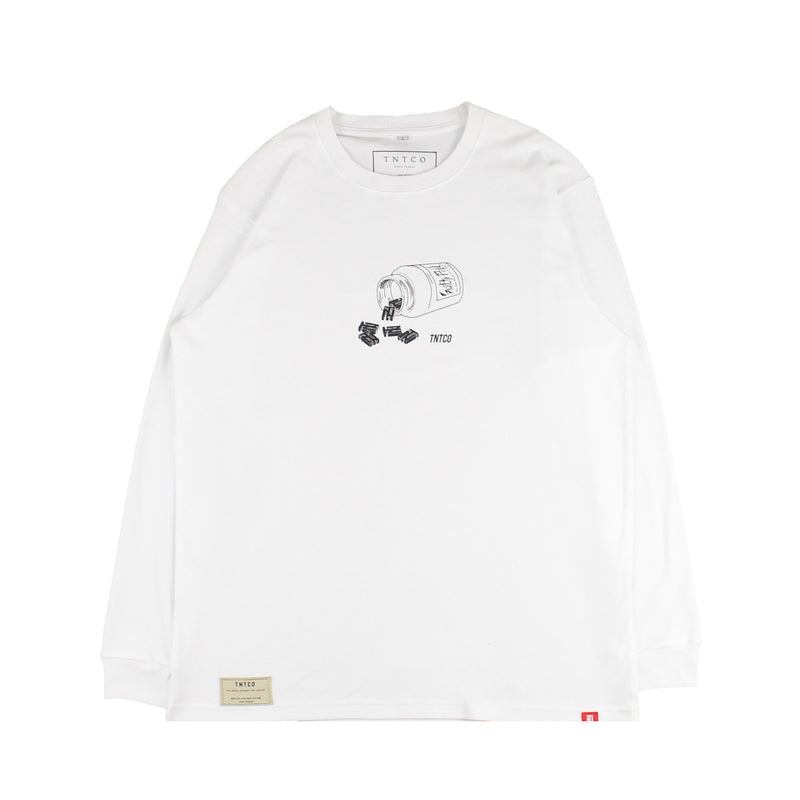 Guilty Pill Long Sleeves Tee
