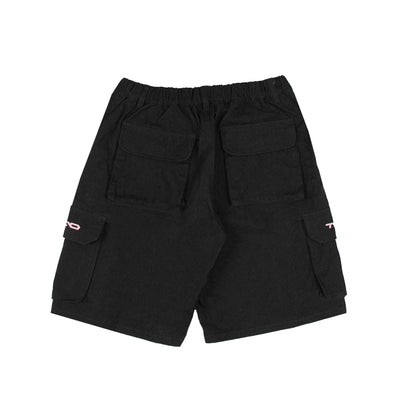 Logo Cargo Shorts Black