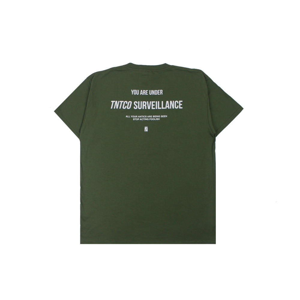 Surveillance Tee Military Green
