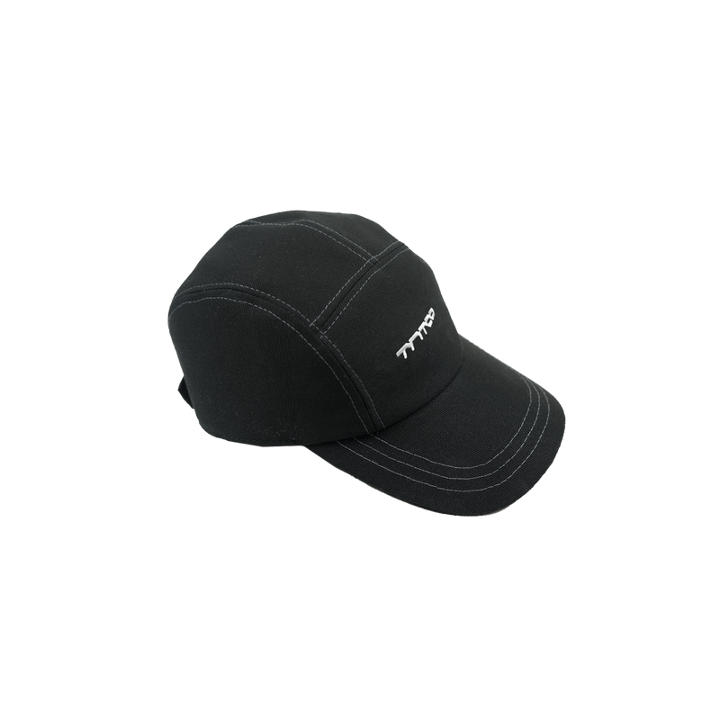 Logo 5 Panel Cap (Black)