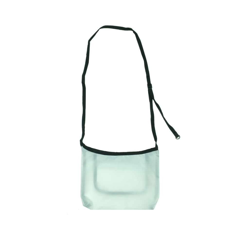 Transparent Shoulder Bag (White)