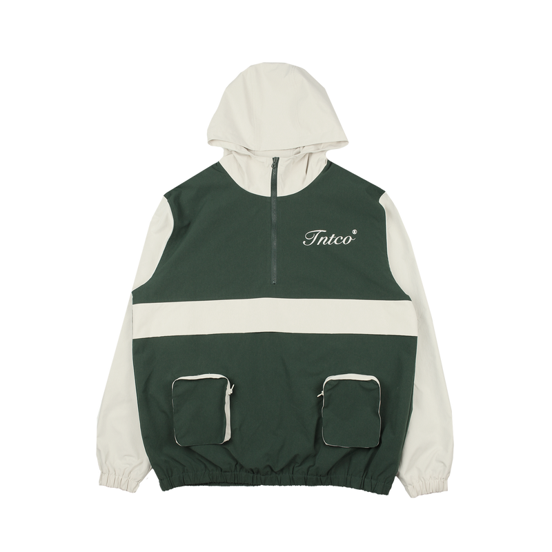 Cynic Zipped Up Track Jacket (Green)