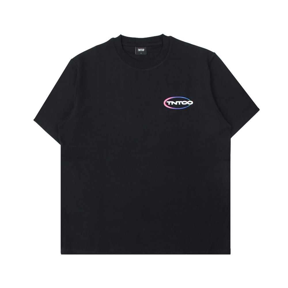 Gradient Logo Tee Black