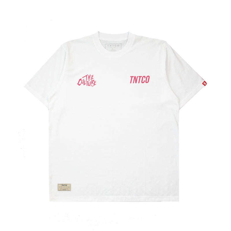 TNTCO x The Culture Official Merch Tee White