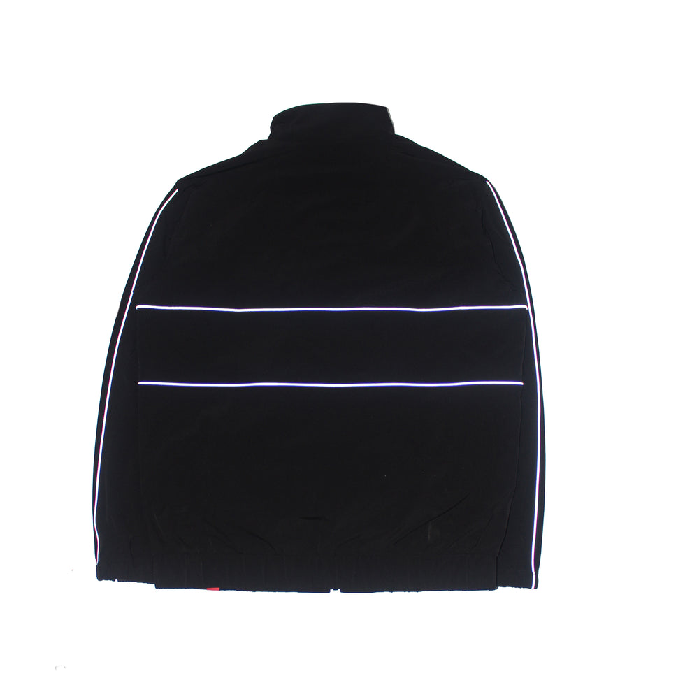 3M REFLECTIVE TRACK JACKET BLACK