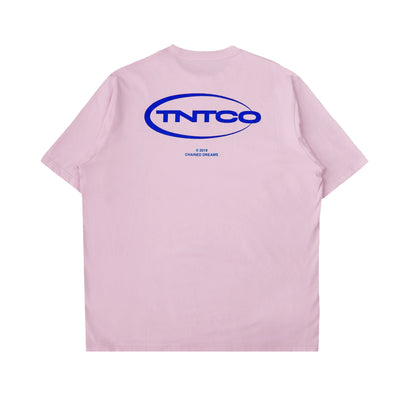 Chained Logo Tee (Pink)