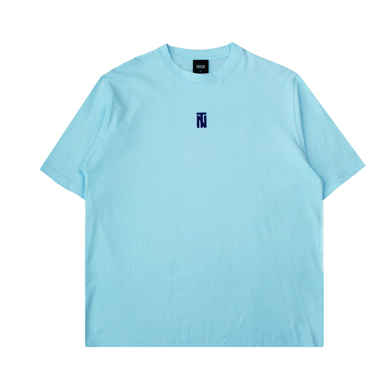 Chained Logo Tee (Blue)