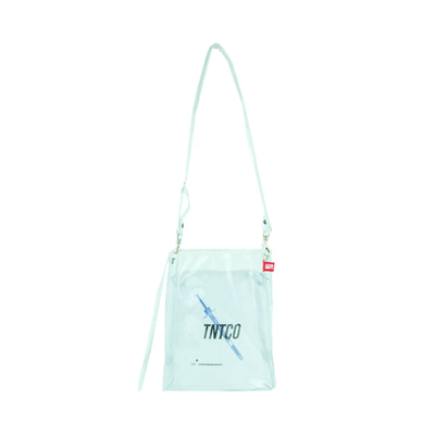 Syringe Transparent Shoulder Bag
