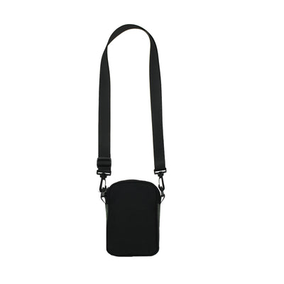 Logo Shoulder Bag Black