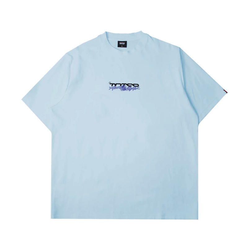 Scream Tee Blue