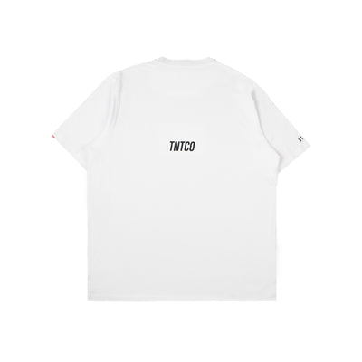 Label Tee White