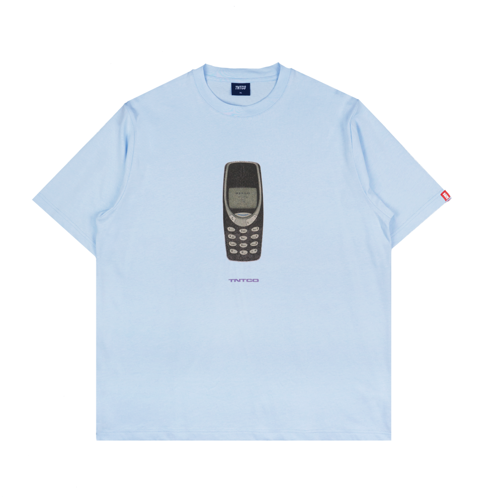 Hello Tee (Light Blue)
