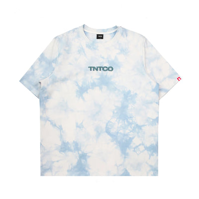 Tie Dyed Logo Tee (Blue)
