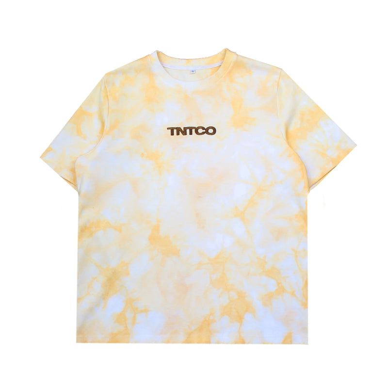 Tie Dyed Logo Tee (Yellow)