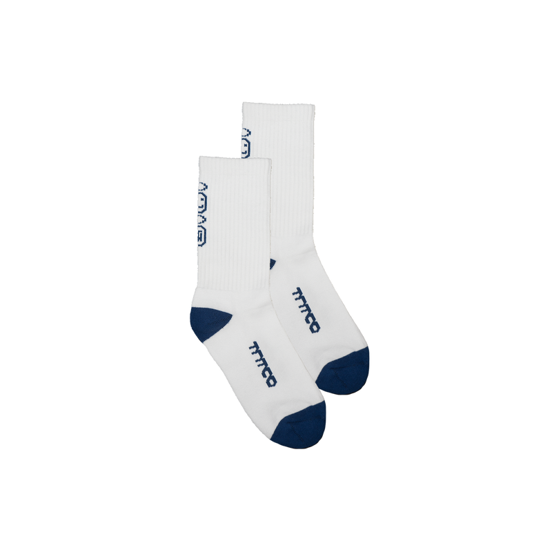 Unearthed Sock (Navy/White)