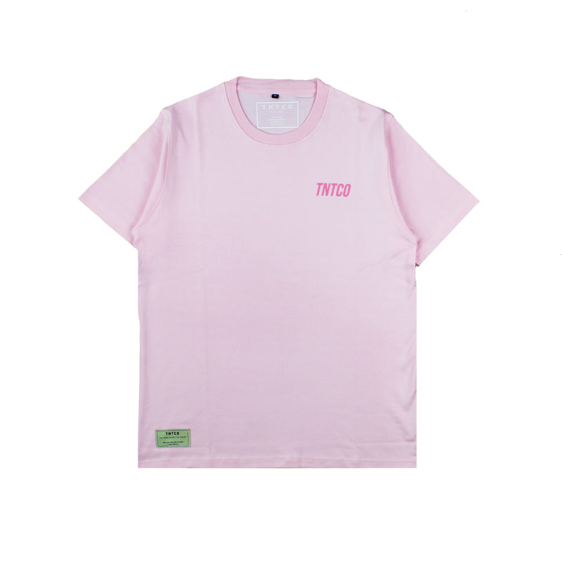 One On One Short Sleeve Tee Pink