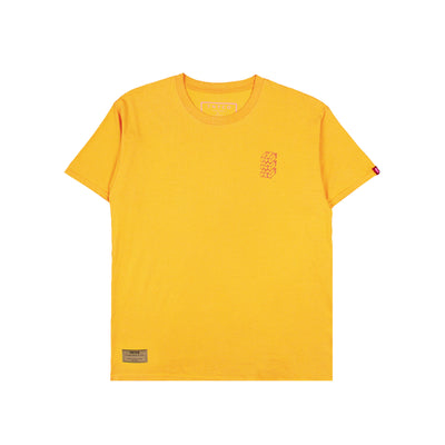 Icon Block Tee Yellow