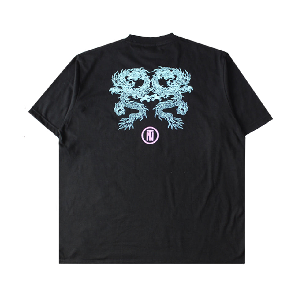 Double Naga Tee Black