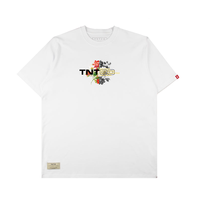 Floral Tee (White)
