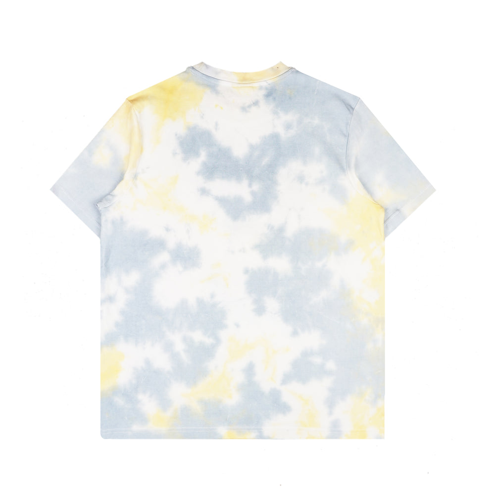 Tie Dye Tee (Blue/Yellow)