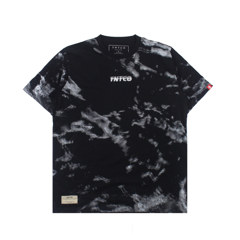 Marble Strike Tee Black