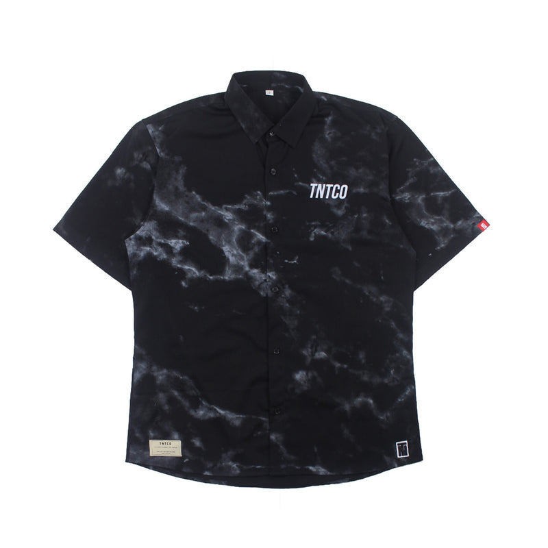 Marble Button Up Shirt