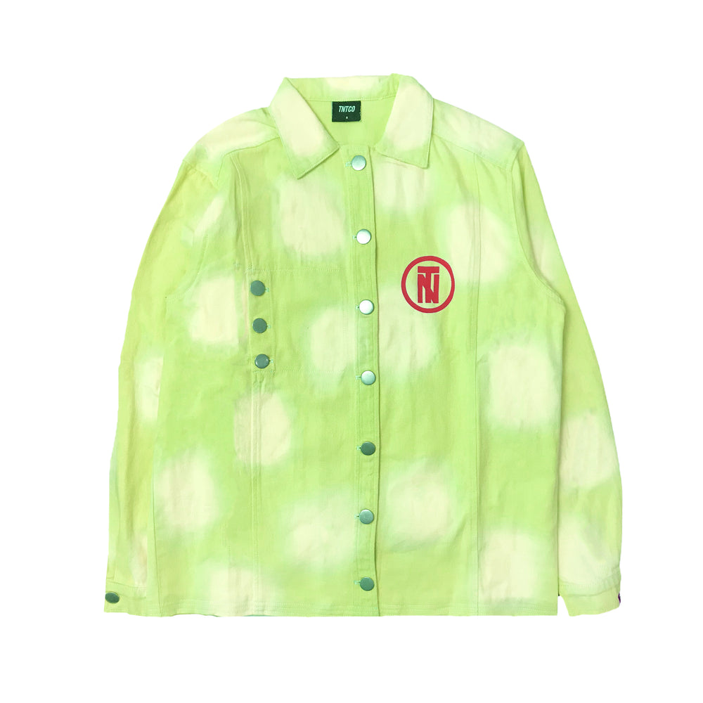 Aimed Neon Dyed Denim Jacket