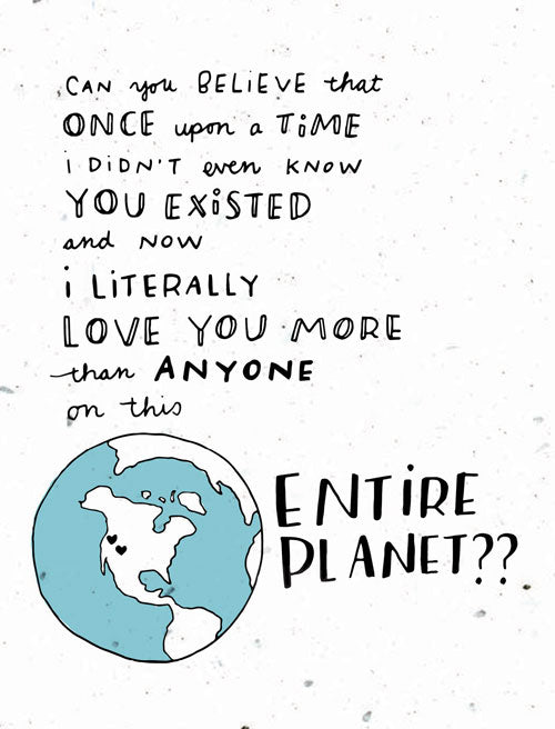 entire planet