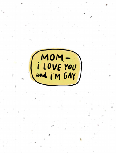coming out: mom
