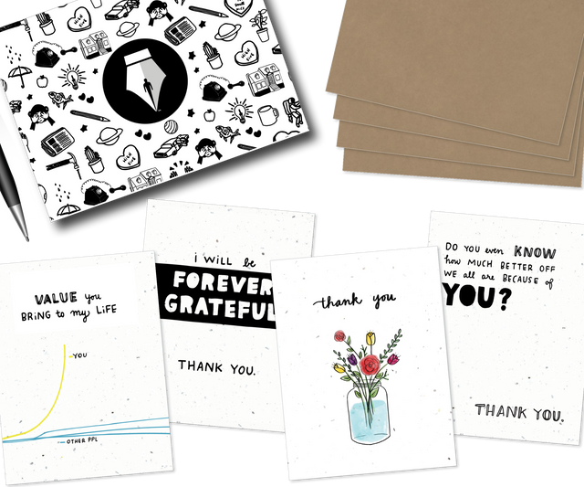 Gratitude, Assorted 4-pack
