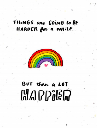 harder then happier