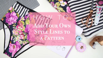 FREE Pattern & Adding Style Lines Tutorial
