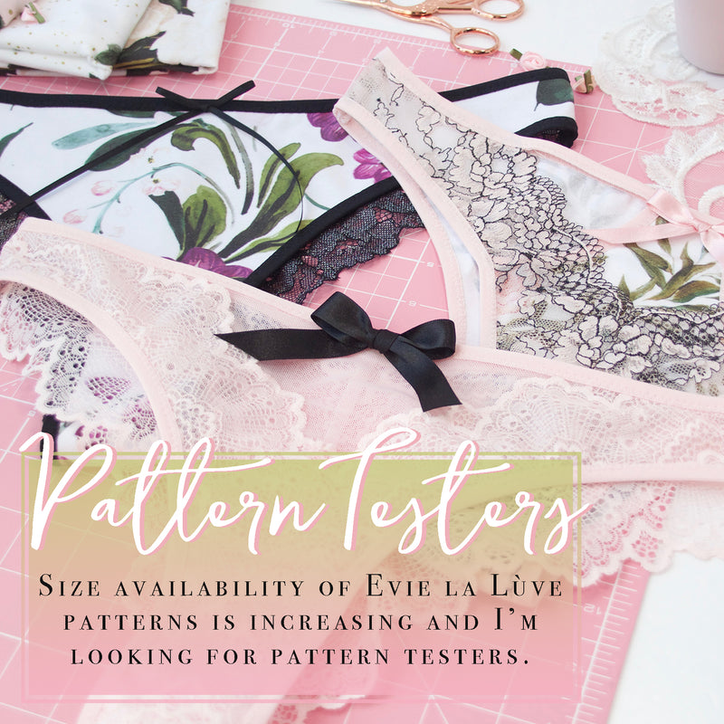 Pattern Testers // New Sizes
