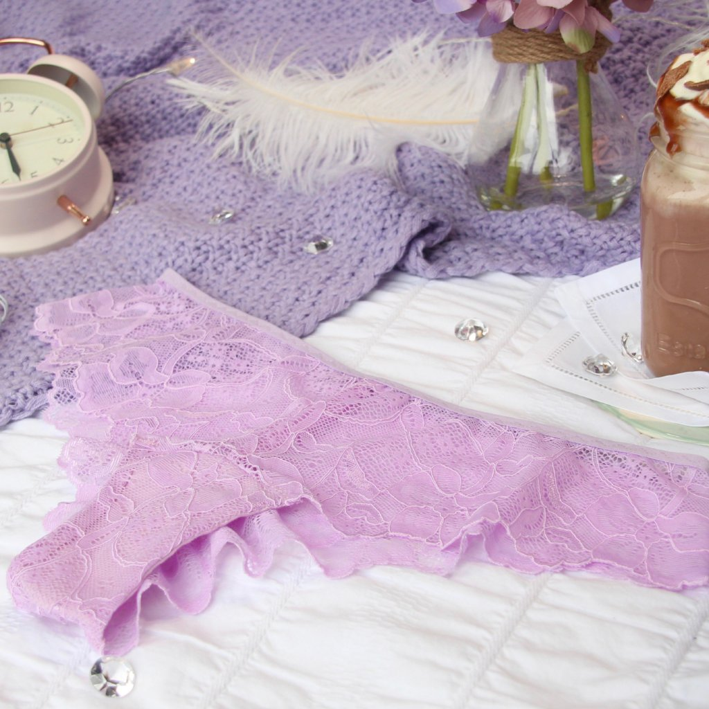 Lace Panties from the 'Thinking Violet' Collection