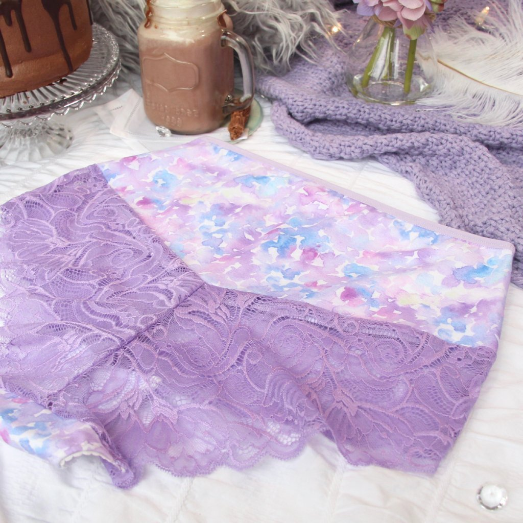 Lacy High Waist Panties from the 'Shake Your Blossom' Collection