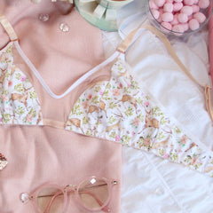 Peek-A-Boo Soft Bra from the 'Deer To My Heart' Collection