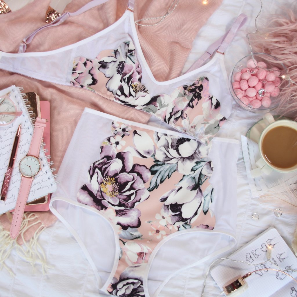 Scalloped Soft Bra from the 'You Make My Heart Go Bloom' Collection