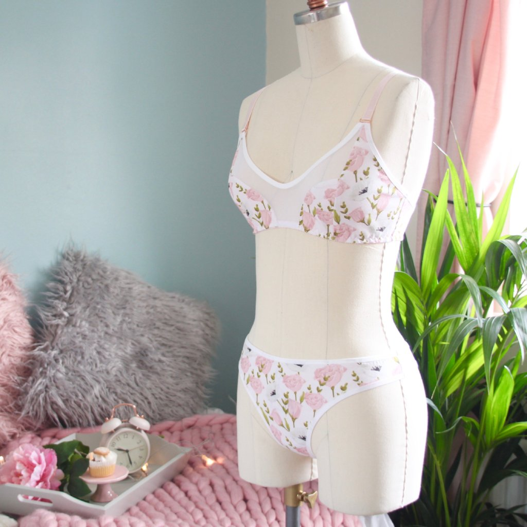 Peek-A-Boo Soft Bra from the 'Petal For Your Thoughts' Collection