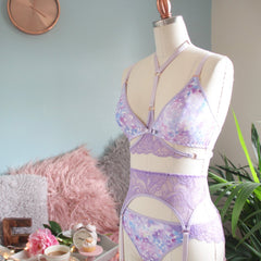 Purple Lace Harness from the 'Shake Your Blossom' Collection