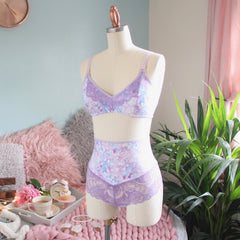 Lace Detailed Soft Bra from the 'Shake Your Blossom' Collection