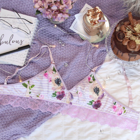Purple Lace Harness from the 'Thinking Violet' Collection