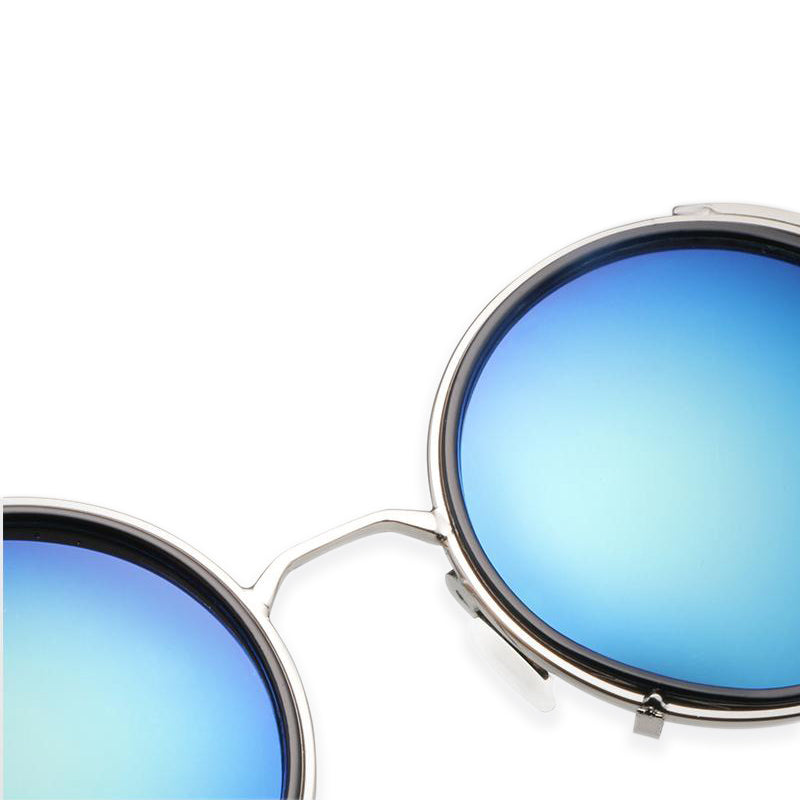 Retro Oval Sunglasses For Women 55MM F5100