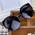 Retro Designer Round Glasses Women's Sunglasses F5107 - FEUZY